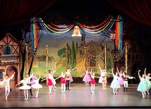 舞台照明バレエ